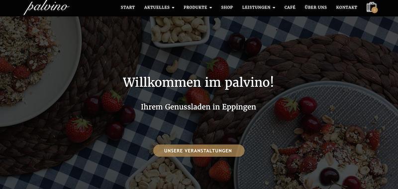 Palvino Homepage Eppingen 1