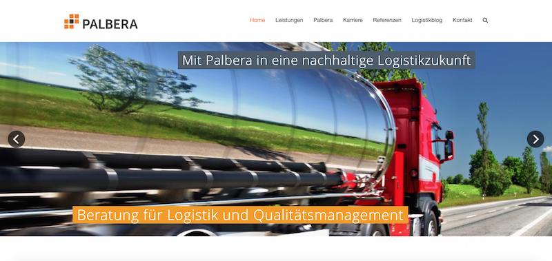 Logistikberatung Und Qualitätsmanagement In Eppingen – Homepage Für Palbera